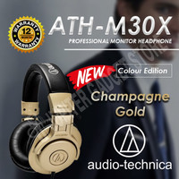 Audio Technica ATH M30X Monitor Headphones ORIGINAL I Garansi Resmi