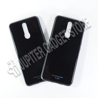 Oppo F11 Ume Black Glass Series Tempered Case - ORI