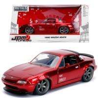 Jada 1/24 1990 Mazda Miata Red