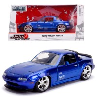 Jada 1/24 1990 Mazda Miata Blue