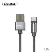 Remax Gravity Kabel Charger Magnetic USB Type C - RC-095a Hitam