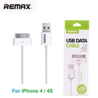 Remax Fast Charging USB Cable for Smartphone RT-007 Putih 30 Pin Apple