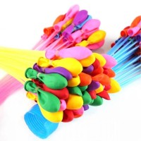 Partycode Balon Air Tiup Anti Bocor 111 PCS V21-A Multi Warna