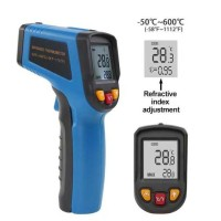 Thermometer Infrared Digital Non Contact - 600C Biru
