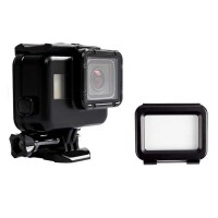 Vamson Touchscreen Waterproof Case 60m for GoPro Hero 5/6/7 Hitam
