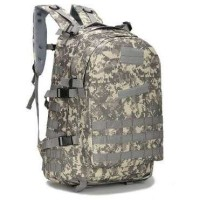 Tas Ransel Army Style Hiking Camping A-688 Gray Camouflage