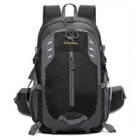 XUAN & YUFAN Tas Gunung Travel Outdoor Adventure 40L - GC31 Hitam