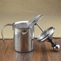 Nian Shun Gelas Kopi Espresso Art Coffee Milk Frother 400ml Silver