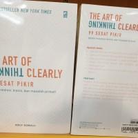The Art of Thinking Clearly 99 sesat pikir dalam bisnis Rolf Dobelli