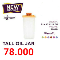 Tall Oil Jar / Tempat Minyak / Tempat Minum Tulipware