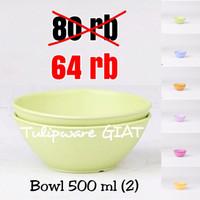 Mangkok Makan / Mangkok Mie / Bowl 500 ml (2) Tulipware