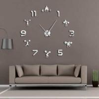 Taffware Jam Dinding Besar DIY Giant Clock 120 Weightlifting DIY216