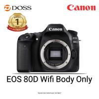 Canon EOS 80D wifi Body Only DSLR Camera