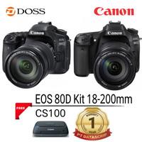 Canon EOS 80D wifi Kit 18-200mm DSLR Camera