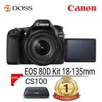 Canon EOS 80D wifi Kit 18-135mm DSLR Camera