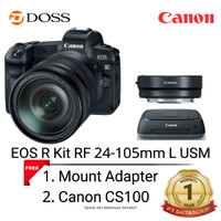 Canon EOS R Mirrorless With 24-105mm