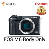Canon EOS M6 Mirrorless Digital Camera Body Only Black