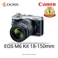 Canon EOS M6 Kit 18-150 mm Mirrorless Digital Camera (Silver)