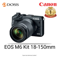 Canon EOS M6 Kit 18-150 mm Mirrorless Digital Camera (Black)