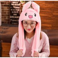 Topi Kelinci Murah Dancing Bunny Hat Kuping Gerak Goyang KROP KOREA