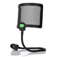 Pop Filter Shield Flexible Filter Windshield Microphone Cover