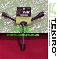 TEKIRO Kunci Sock Y - pendek ukuran 10 - 11 - 13 mm Kode WR-YT0267