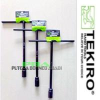 TEKIRO Kunci Sock T Hitam 7 mm. Item code-WRTT0231