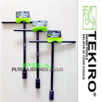 TEKIRO Kunci Sock T Hitam 12 mm Item code-WRTT0236