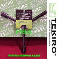 TEKIRO Kunci Sock Y - pendek ukuran 08-10-12 mm Kode WR-YT0266