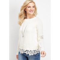 (SALE) Maurices sweater Cewek JUMBO SIZE - Sweatshirt Women original
