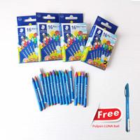 Wax Crayon Staedtler 16 Warna