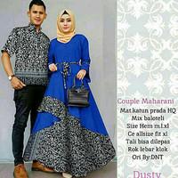 Cp Maharani/Maxi Baloteli Kombi Batik/Couple Batik/Baju Kondangan