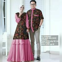 Cp Parikest/Couple batik silk halus dan perpaduan velvet/batik couple