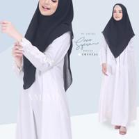 Syera Dress Crystal SMLXL by Amima Gamis Only katun madina adem polos