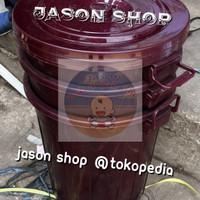 Ember plastik 60 liter (maroon)/Ember air 60 liter/Ember besar