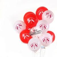 Balon HUT RI / balon merah putih / balon motif dirgahayu ri / balon