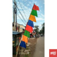 Grosir Bendera Indonesia Umbul-Umbul Warna