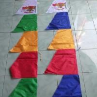 bendera Umbul-umbul warna 6 mata