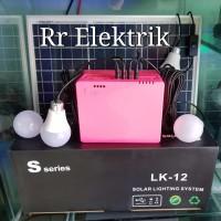 Paket Lampu Tenaga Surya / Solar Lighting System Sseries LK 12 30wp