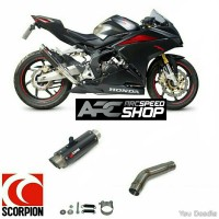 Knalpot Scorpion Slip On RP1-GP Honda CBR 250RR