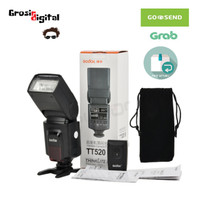 Flash Godox TT520 II FREE Wireless Trigger Speedlite kamera mirrorless
