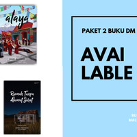 Paket Buku Daniel Mahendra: Alaya dan Rumah Tanpa Alamat Surat