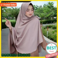 Hijab Khimar Instan Jilbab Kimar Praktis Langsungan Syari i Kerudung J