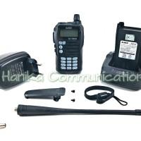 Alinco DJ-CRX5 HT Dual Band VHF UHF Baru Garansi 1Th CRX5 DJCRX5 Handy
