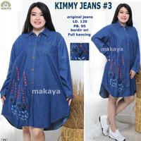 grosir baju wanita kimmy jeans 3 tunik