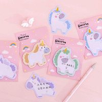 sticky notes post it catatan tempel magical unicorn sno057