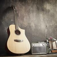 HEX D300CE Gitar Akustik Elektrik
