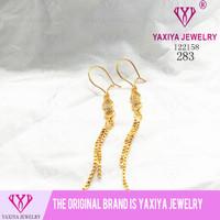 Anting Permata Lapis emas Perhiasan imitasi Yaxiya Jewelry 283