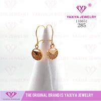 Anting Permata Lapis emas Perhiasan imitasi Gold18k Yaxiya Jewelry 285