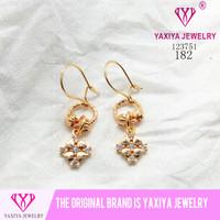 Anting Permata Lapis emas Perhiasan imitasi Gold18k Yaxiya Jewelry 182